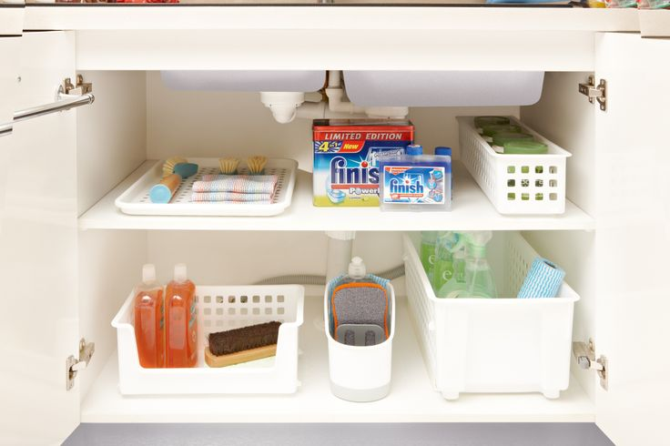 Structure under the Sink. its not the most straightforward storage area but that's where we step in. Our range of under the sink storage makes the most of this space.