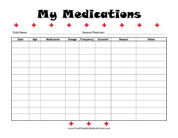 53 best medical printables images on pinterest free for Seizure diary template
