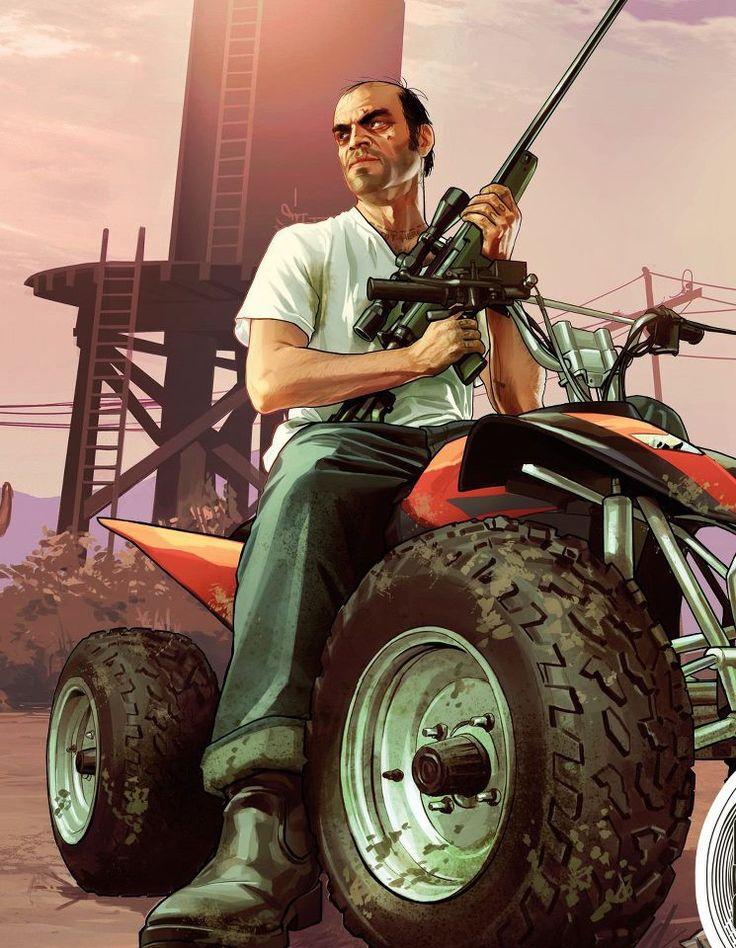 Trevor is by far my fav Grand Theft Auto character because he kinda looks like Jack Nicholson