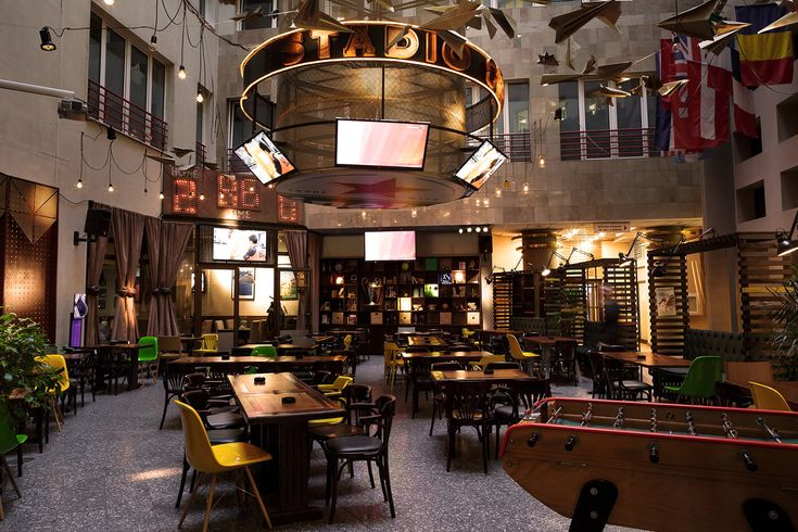romanians take the lead with stylish sports bar
