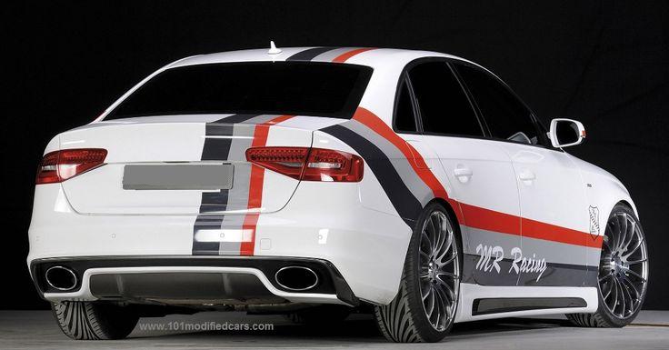 101 Modified Cars - Modified Audi A4 (4th generation, B8 Typ 8K)