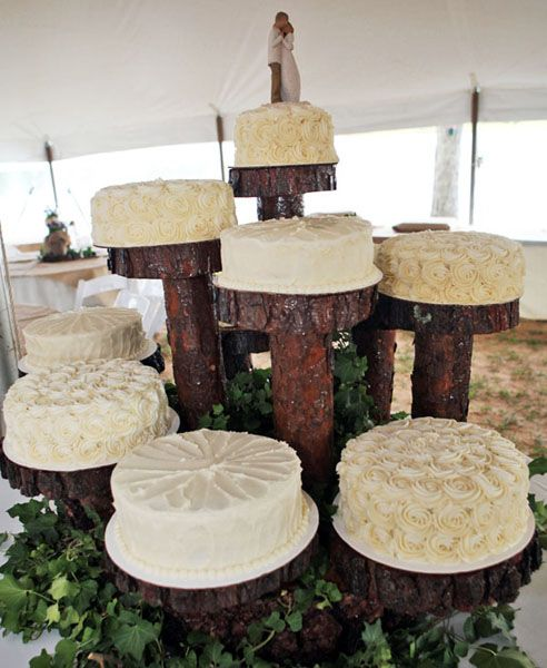 Trade Cake Stands : Best images about tiered cake displays on pinterest