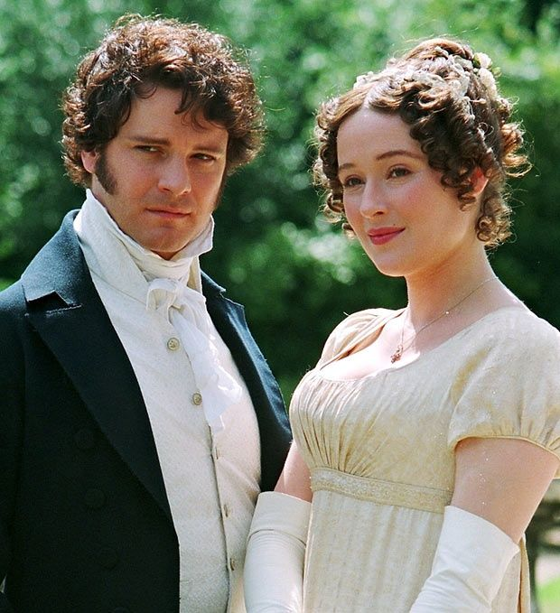 Colin Firth and Jennifer Ehle, BBC's Pride and Prejudice (no one plays Mr. Darcy like Colin Firth!!)