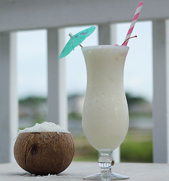 Pina Colada - Coconut is one of my all time favorite flavors. With a simple twist on a classic Pina Colada, this is really excellent.