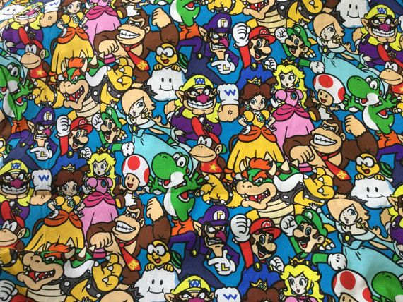 Video Game Decor Coasters Mario en vrienden paren Gift