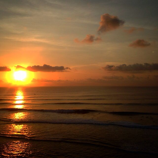 Sunset at Blue Point, Bali, Indonesia
