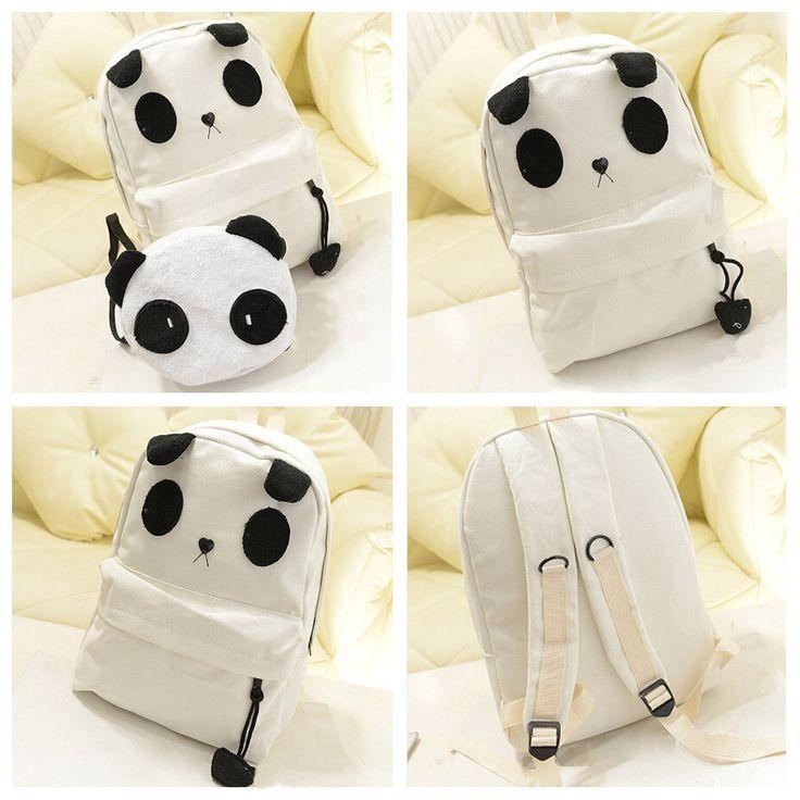 mochilas de moda de pandas - Buscar con Google