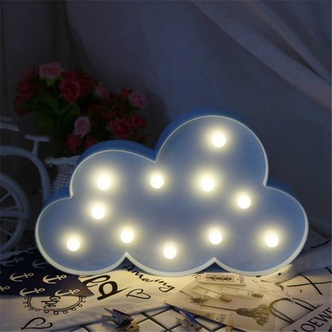 Home Decoration Clouds Shape Decoration LED Night Light Table Lamp