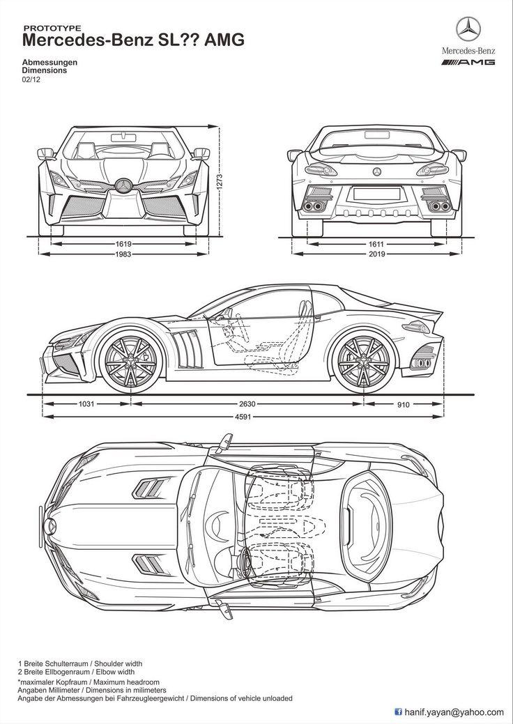 187 best car blueprints images on pinterest cars car for Smythe mercedes benz