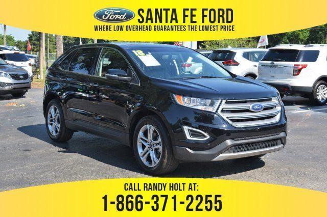 Used 2018 Ford Edge Titanium Fwd Suv For Sale Gainesville Fl 39416p Ford Edge Suv For Sale Used Ford