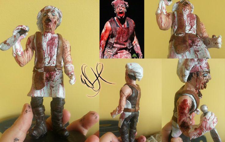Till Lindemann (rammstein) handmade polymer clay https://www.facebook.com/Whitewolf.handmade