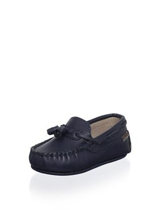 67% OFF W.A.G. Kid's Tasseled Moccasin (Navy)