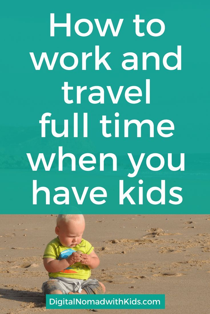 Being a digital nomad has its difficulties, but being a digital nomad with kids can be a real challenge! This is how to work and travel with children.