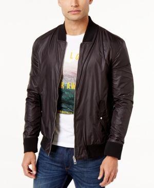 Hugo Boss Orange Men's Z-Streets Bomber Jacket - Black XXL