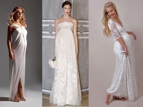 Платье свадебное для беременной невесты