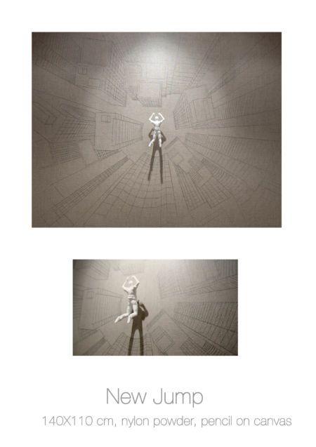 Actor on Canvas - New Jump, Federico Clapis