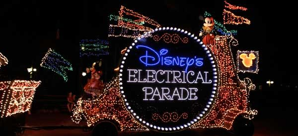 A favorite memory: sitting on Dad's shoulders at five years old, watching the Disney light parade with such awe and wonder!