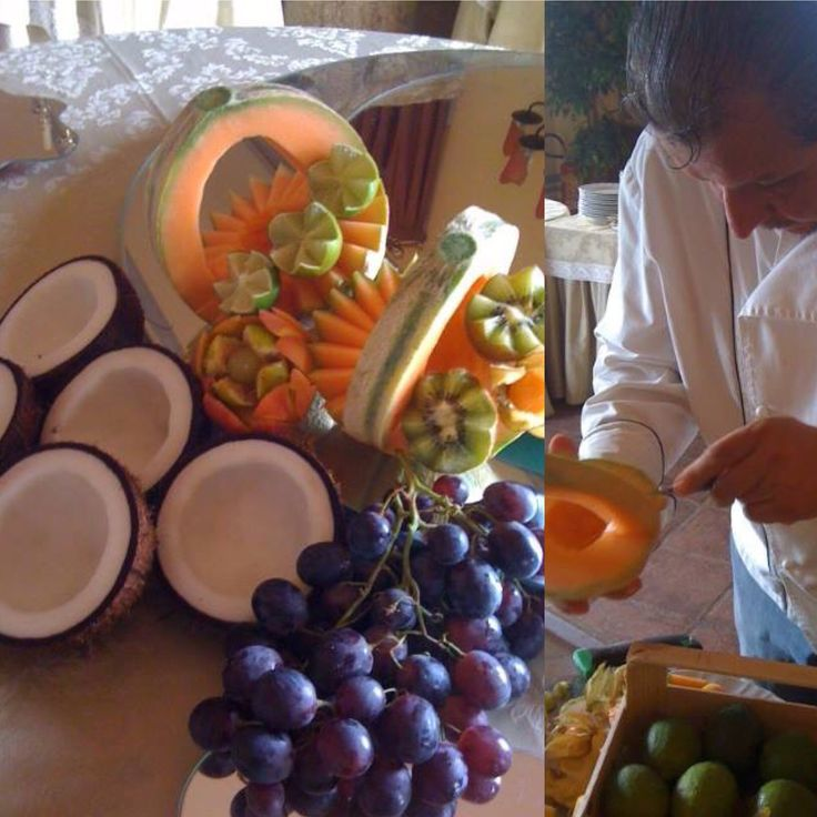 Fruit composition by Chef Aldo!