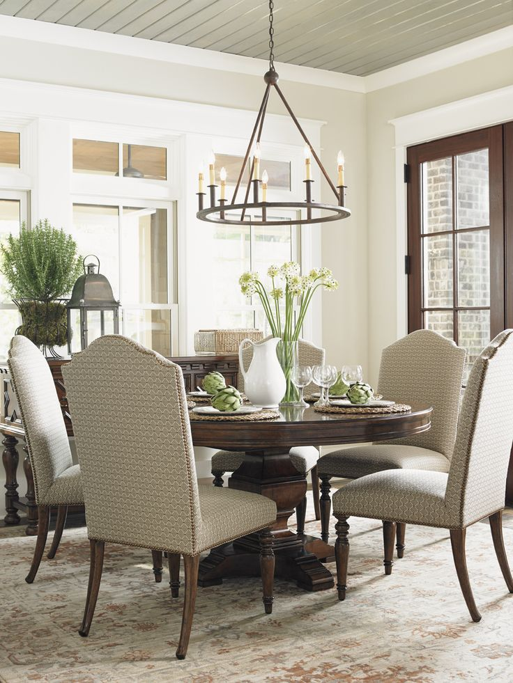 Lexington Home Brands Ridgeview Round Dining Table Part 47