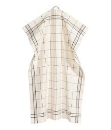 Linen-blend Tea Towel | Natural white/checked | H&M HOME | H&M US