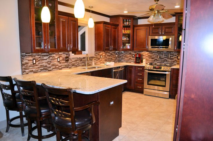Design on Pinterest  Modern kitchen cabinets, Dark kitchen cabinets