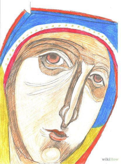 Cómo dibujar iconos ortodoxos                                                                                                                                                                                 Más