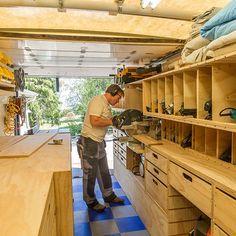 Woodshop on Wheels: Ron Paulk on the Design of His Mobile Woodshop, Part 1
