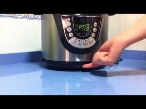 ▶ receta tortilla de patatas olla programable modelo d, saca partido a tu cocina programable - YouTube