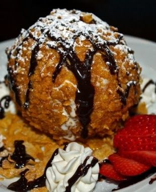 Best Deep-Fried Ice Cream Recipe - We've looked at lots of recipes, but we think this is the best recipe we have found for frying ice cream at home. Best of all, you get to choose the flavor.