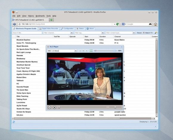 Watch and record TV with a Raspberry Pi