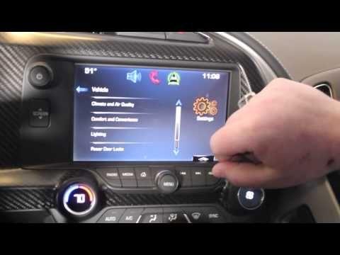▶ Setting the Memory Seat Function in a 2014 Stingray Corvette at Bill Stasek Chevrolet - YouTube