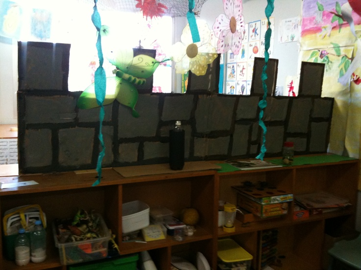 The giants castle wall- surrounding the reading corner