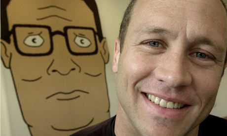 Mike Judge ca. 2010, ph: AP Photo/Ric Francis