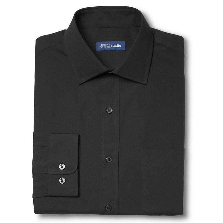 Men's Classic Fit Non-Iron Dress Shirt - Mercer Street Studio