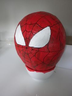 Tuto Pinata Spiderman