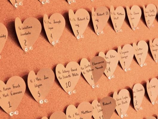 DIY Wedding // Escort Cards
