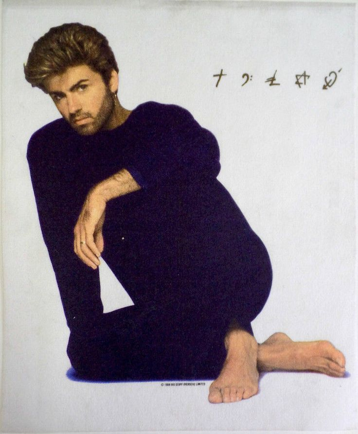 George Michael | Faith Symbols - Original 1987 Promotional Tapestry | eBay