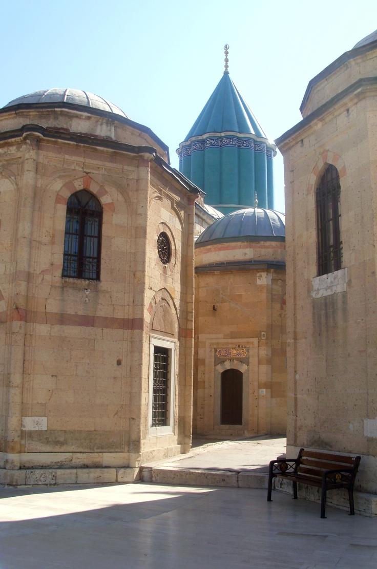 Tomb Of Mewlānā Jalāl ad-Dīn Muḥammad Balkhī (Molavi) - Jalal ad-Dīn Muhammad Rumi مولانا جلالالدین محمد بلخی - مولوی