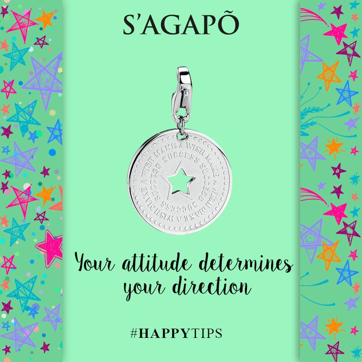 Your attitude determines your direction #HappyTips #tips #quotes #quote #charm #ciondoli