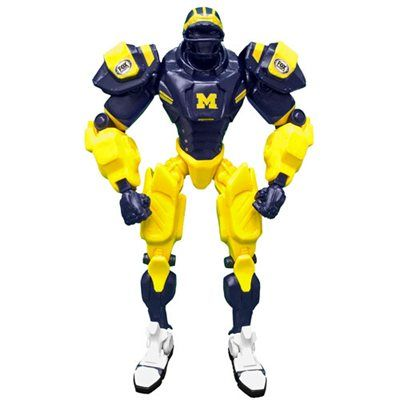 Michigan Wolverines Fox Sports Cleatus the Robot v2.0 Action Figure