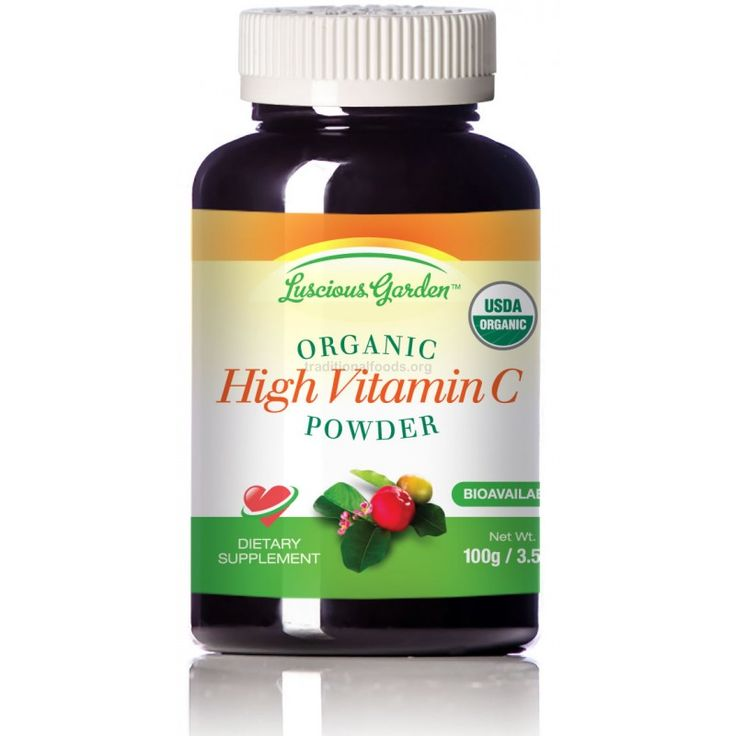 Organic True Whole Food Vitamin C, 3.5 oz - Kimi at Nourishing Gourmet recommends this brand