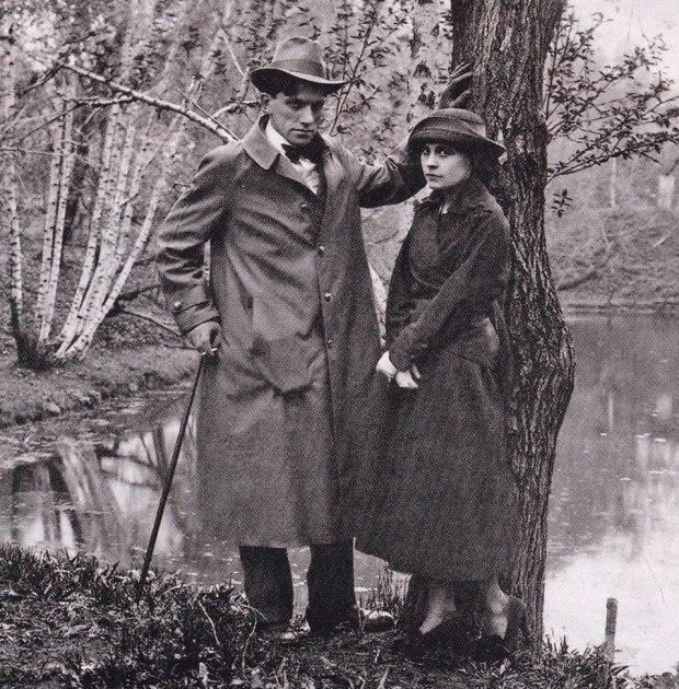 Vladimir Mayakovsky e Lilya Yuryevna Brik