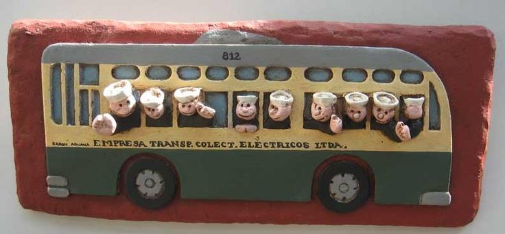 Souvenir de Valparaiso Trolley