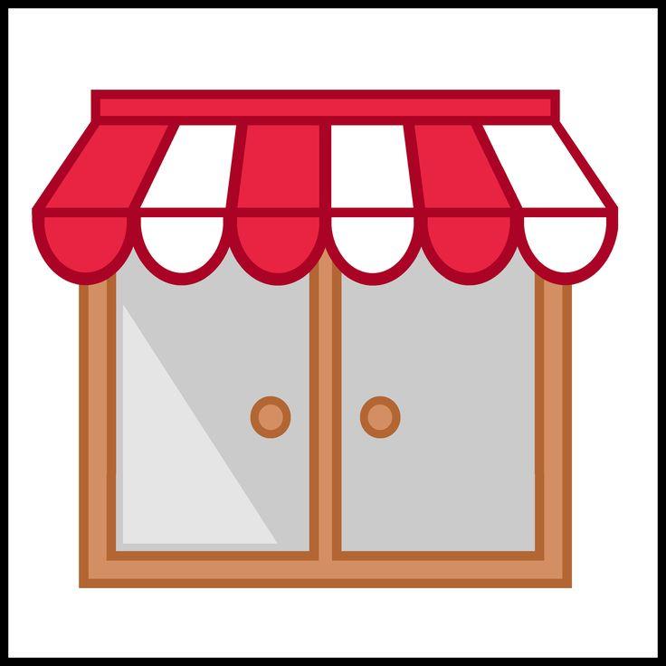 Kaartjes kiesbord - raam - winkel - huis