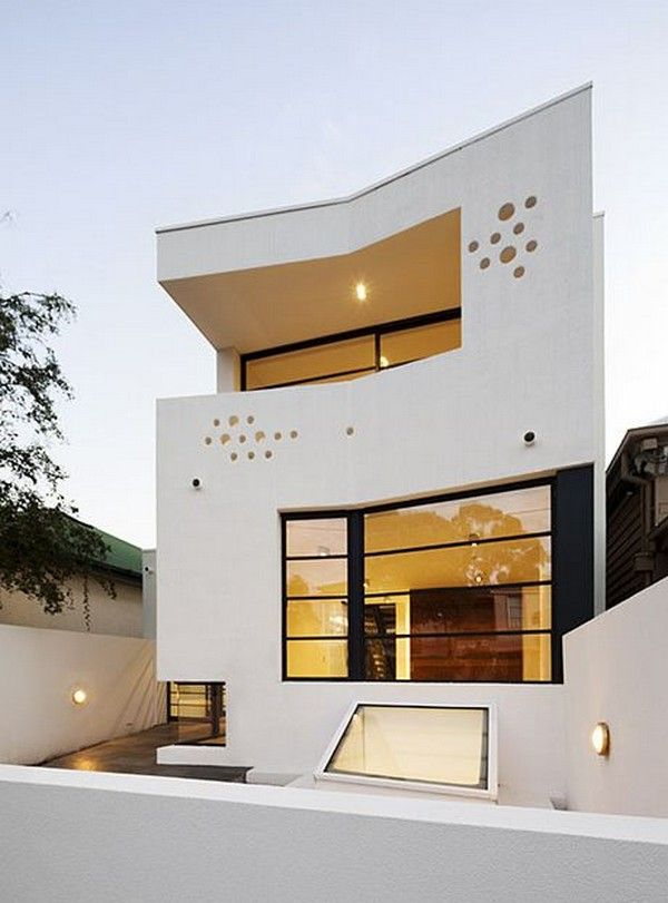 Artist's Crib with an Intriguing Architecture in Melbourne