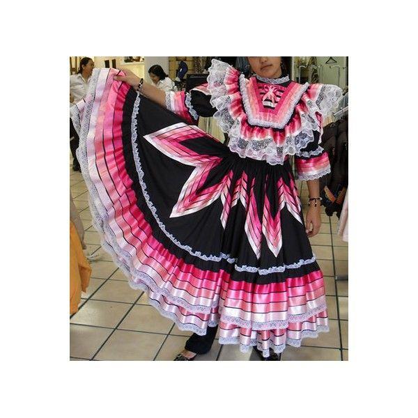 vestido para escaramuza negro con listones rosas. | costuritas