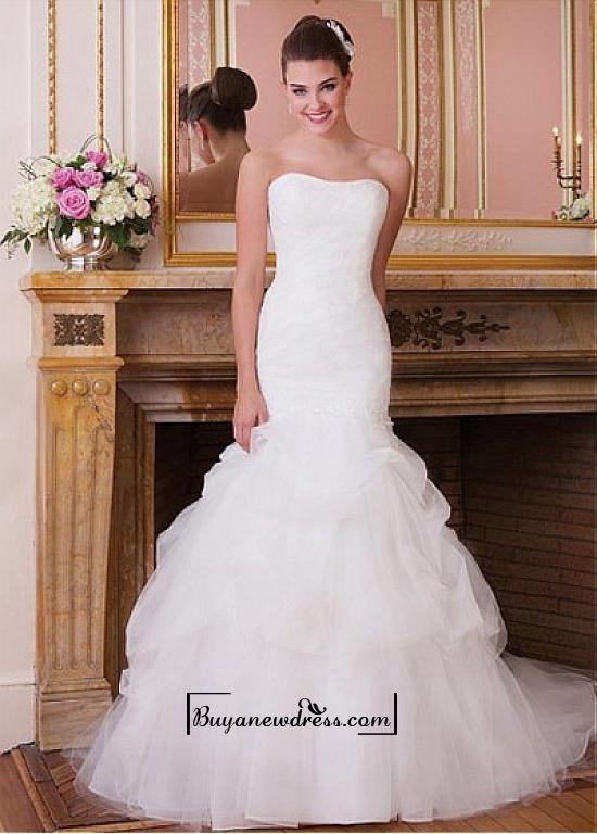 461 best mermaid wedding dresses images on Pinterest | Wedding ...