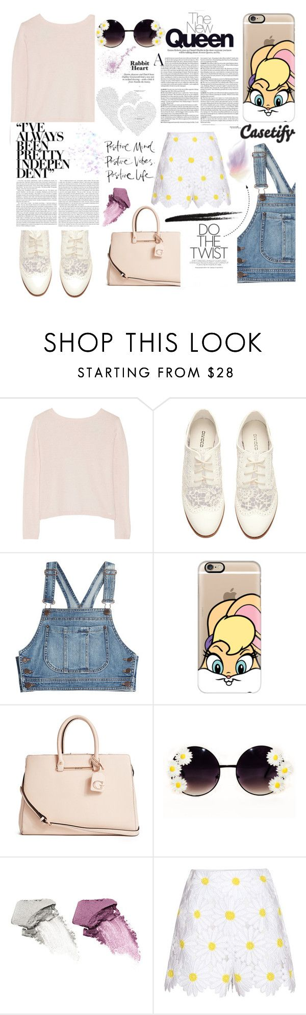 """casetify.com /// looney tunes. <3"" by tatjana ❤ liked on Polyvore featuring Banjo & Matilda, H&M, Moschino, Casetify, GUESS, Dolce Vita, NARS Cosmetics, Dolce&Gabbana, women's clothing and women's fashion"