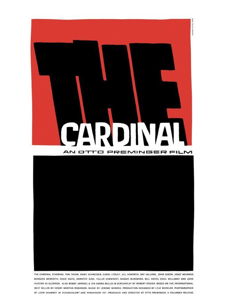 saul bass | Saul Bass The Cardinal