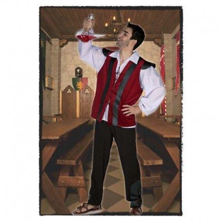 Disfraces medievales hombre   Disfraz de tabernero compuesto de pantalon, camisa con amplias mangas y casaca decorada.  19,95€  #disfraz #medieval #disfraces #medievales #casaca #casacamedieval #tabernero #taberneromedieval #disfraztabernero #edad #media #medievo #edadmedia #disfrazmedieval #disfracesmedievales